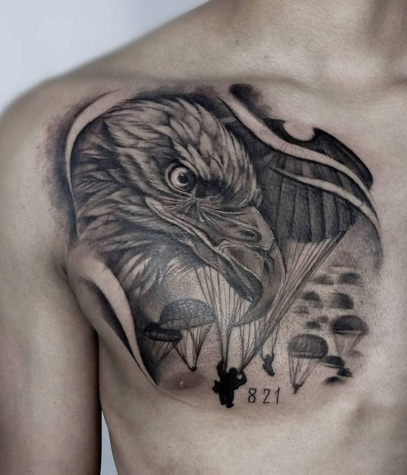 30 Pretty Eagle Tattoos Show Your Temperament