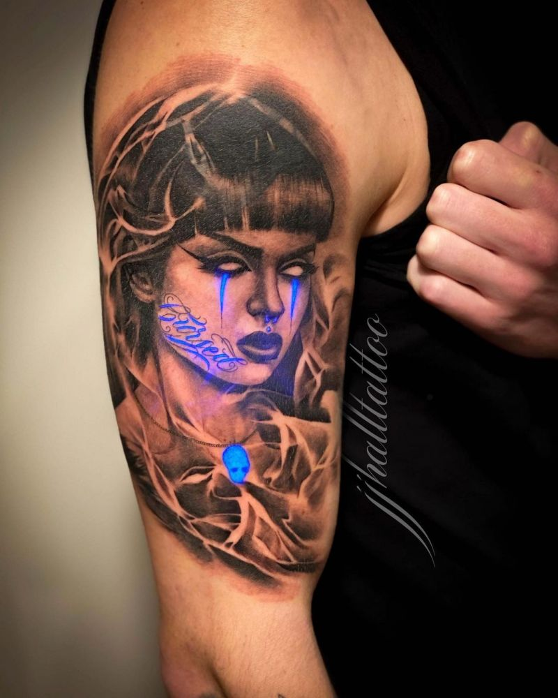 30 Pretty UV Tattoos for Inspiration