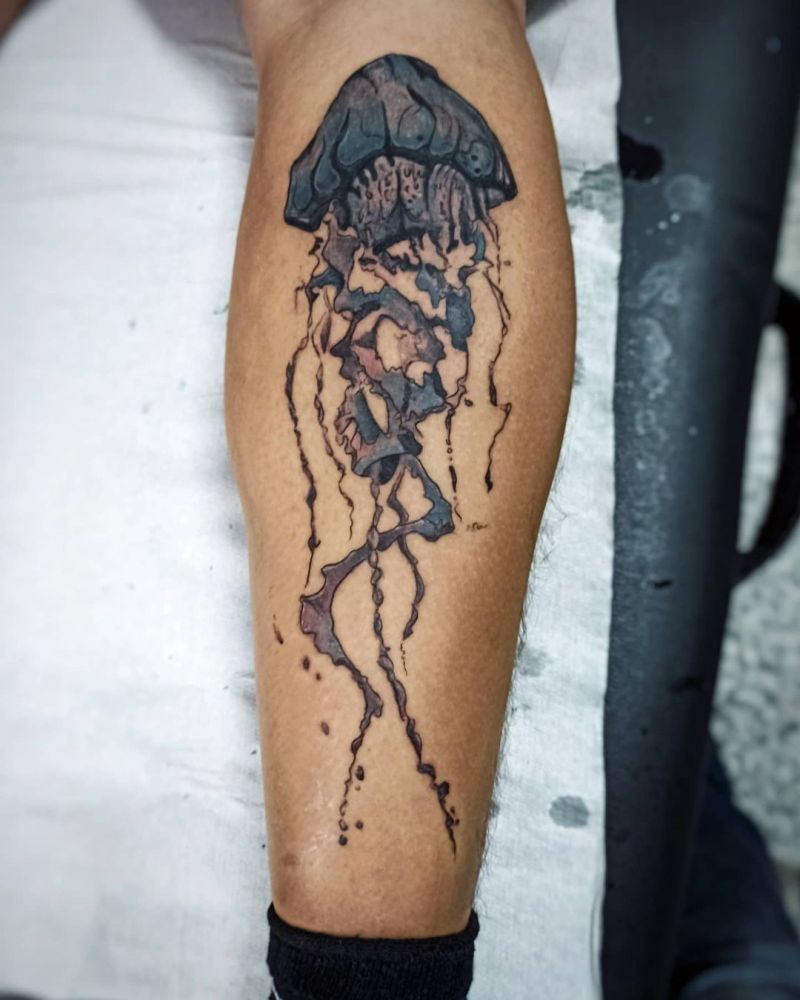30 Pretty Jellyfish Tattoos You Must Try