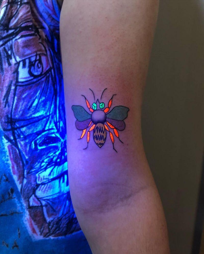 30 Pretty UV Tattoos for Inspiration