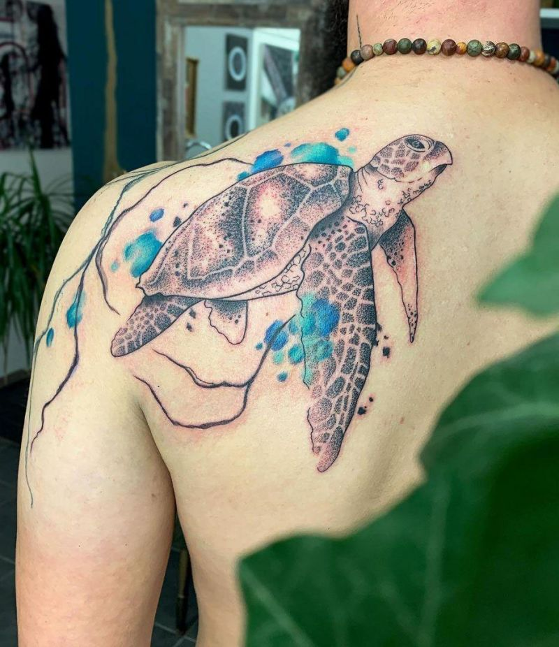 30 Pretty Turtle Tattoos You Must Try