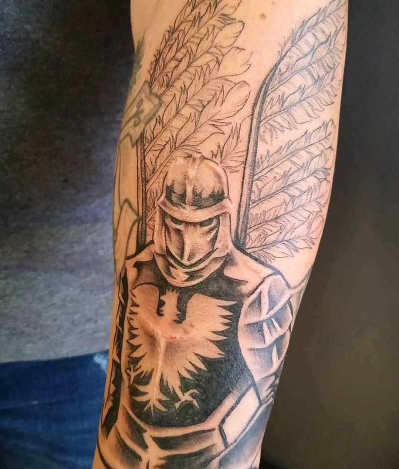 30 Pretty knight Tattoos to Inspire You