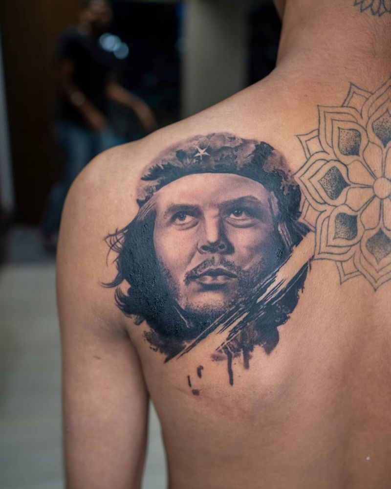 30 Pretty Che Guevara Tattoos to Inspire You