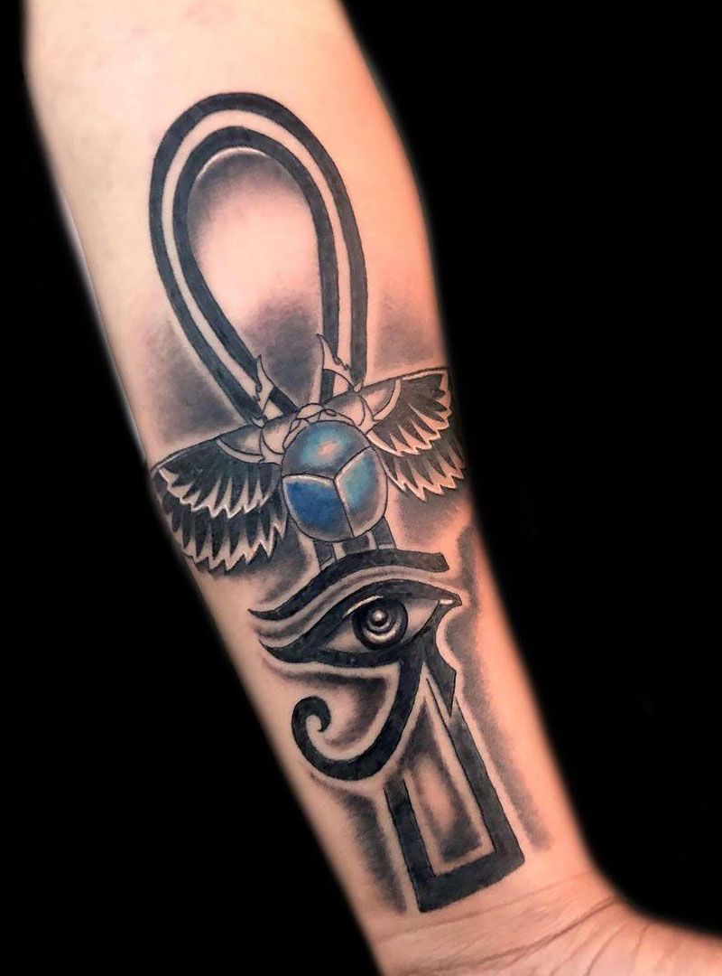 30 Pretty Eye of Horus Tattoos You Must Love
