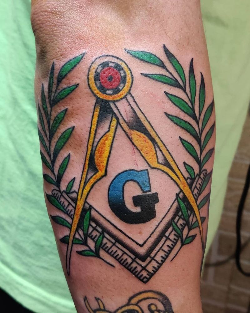 30 Pretty Freemason Tattoos You Will Love