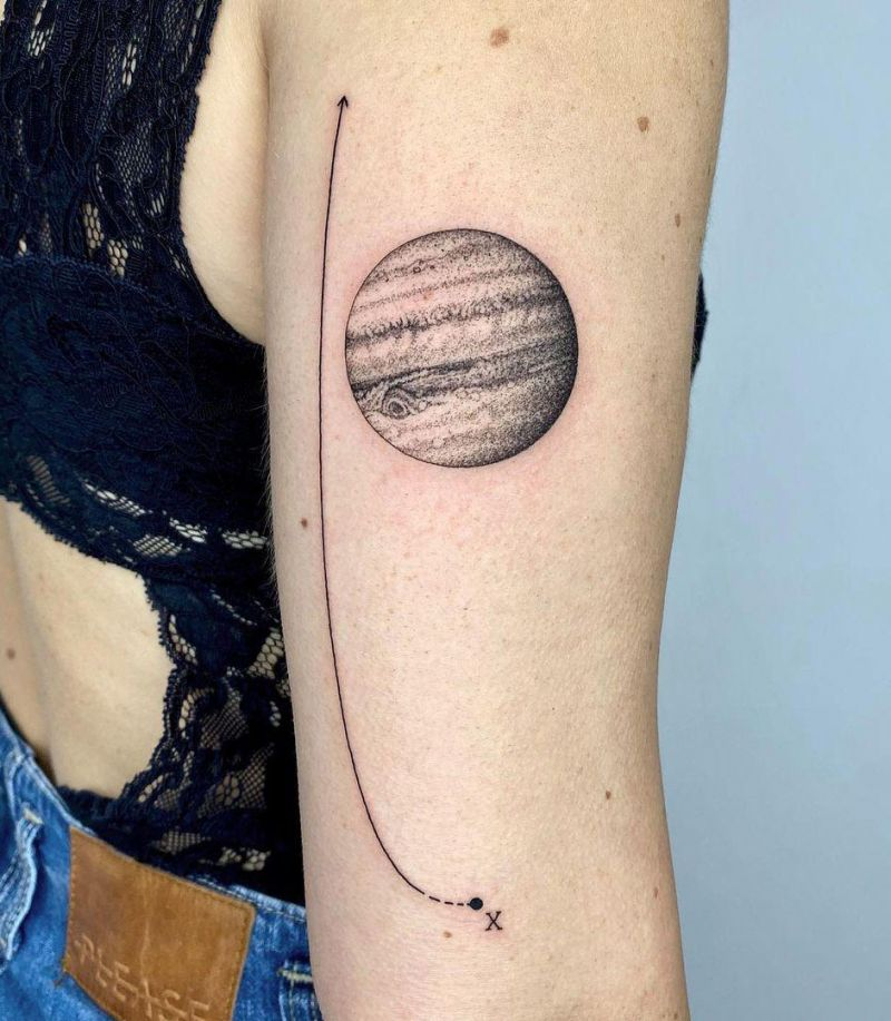 30 Pretty Jupiter Tattoos You Can't Miss