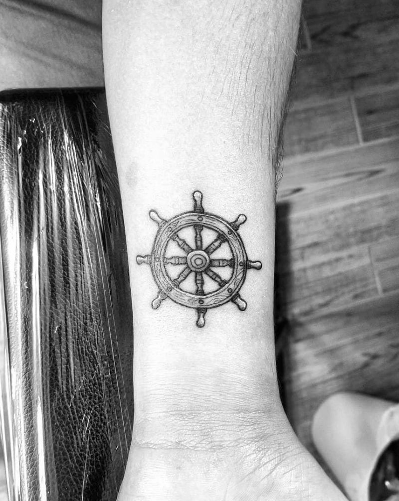 30 Pretty Rudder Tattoos You Must Try