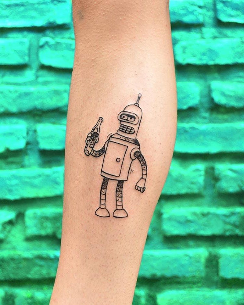 30 Pretty Bender Tattoos You Will Love