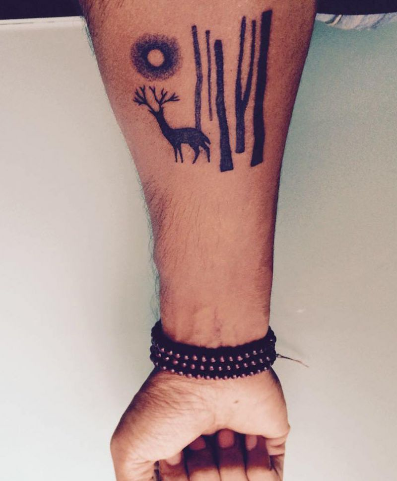 30 Pretty Caribou Tattoos You Will Love