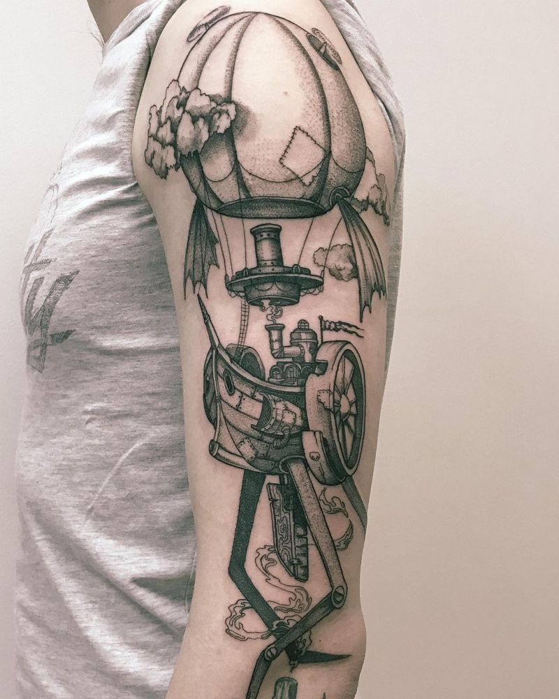 30 Amazing Steampunk Tattoos You Must Try