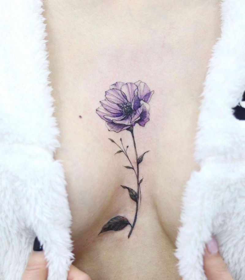 30 Pretty Anemone Tattoos You Must Try