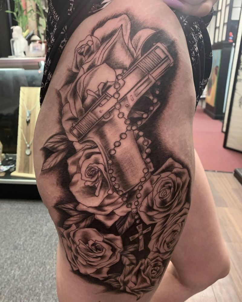 30 Pretty Glock Tattoos You Must Try