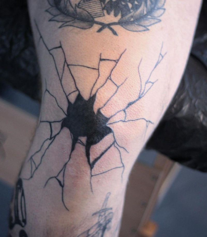 30 Pretty Broken Glass Tattoos You Need to Copy