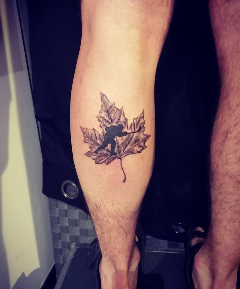 30 Unique Hockey Tattoos You Must Love
