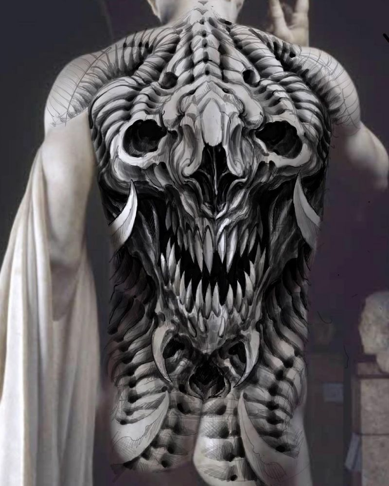 30 Pretty Giger Tattoos You Will Love