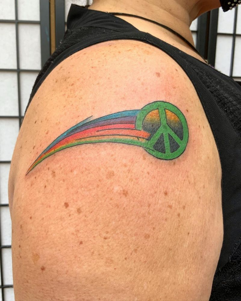 30 Pretty Peace Tattoos to Inspire You