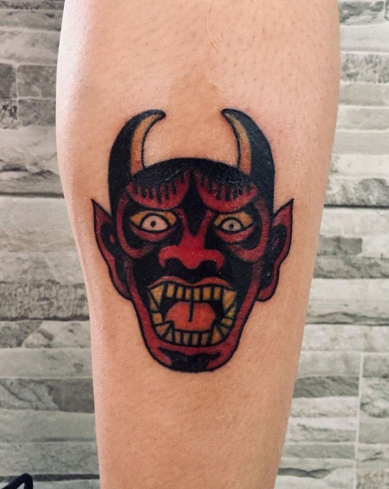 30 Gorgeous Devil Tattoos You Must See
