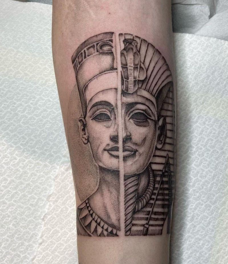30 Gorgeous Egyptian Tattoos You Can't Miss