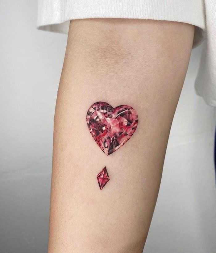 30 Gorgeous Gemstone Tattoos You Must See