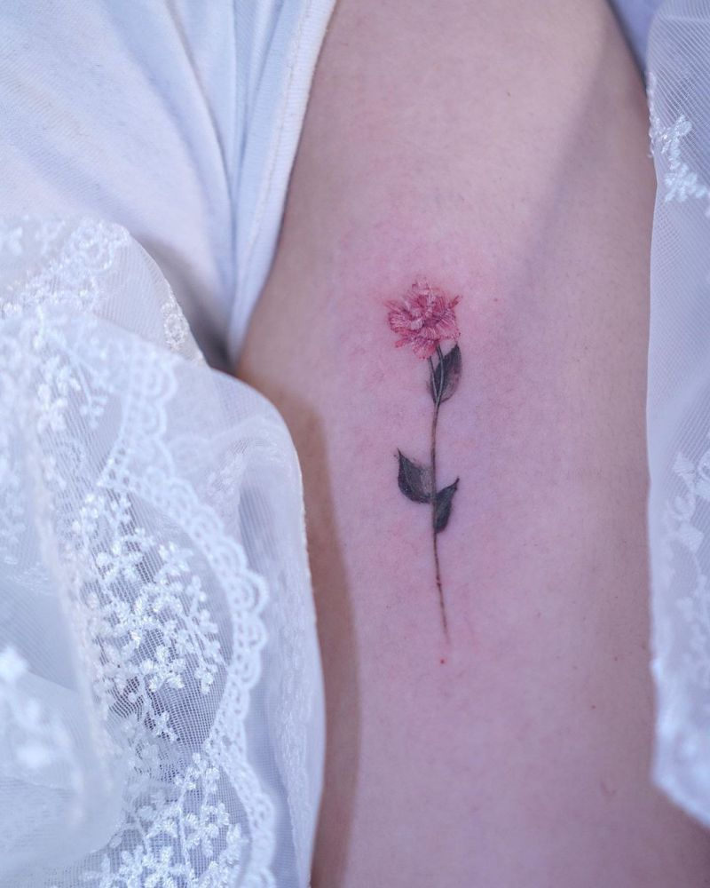 30 Pretty Lisianthus Tattoos You Must See