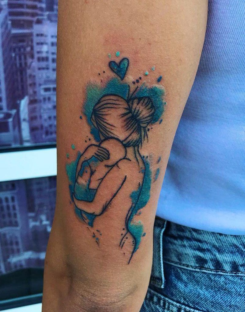 30 Delicate Mother Love Tattoos You Won't Regret