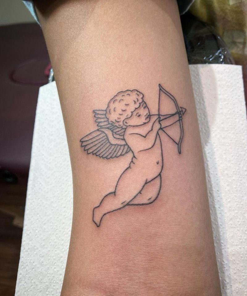 30 Pretty Cupid Tattoos You Must Try