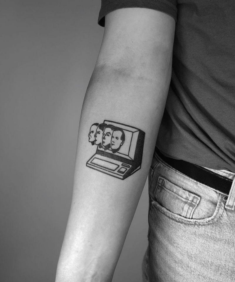 30 Unique Computer Tattoos You Must See