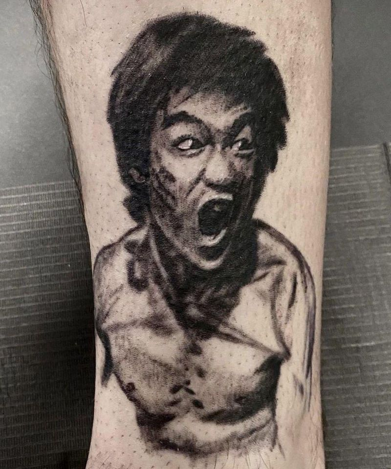 30 Unique Bruce Lee Tattoos You Must Love