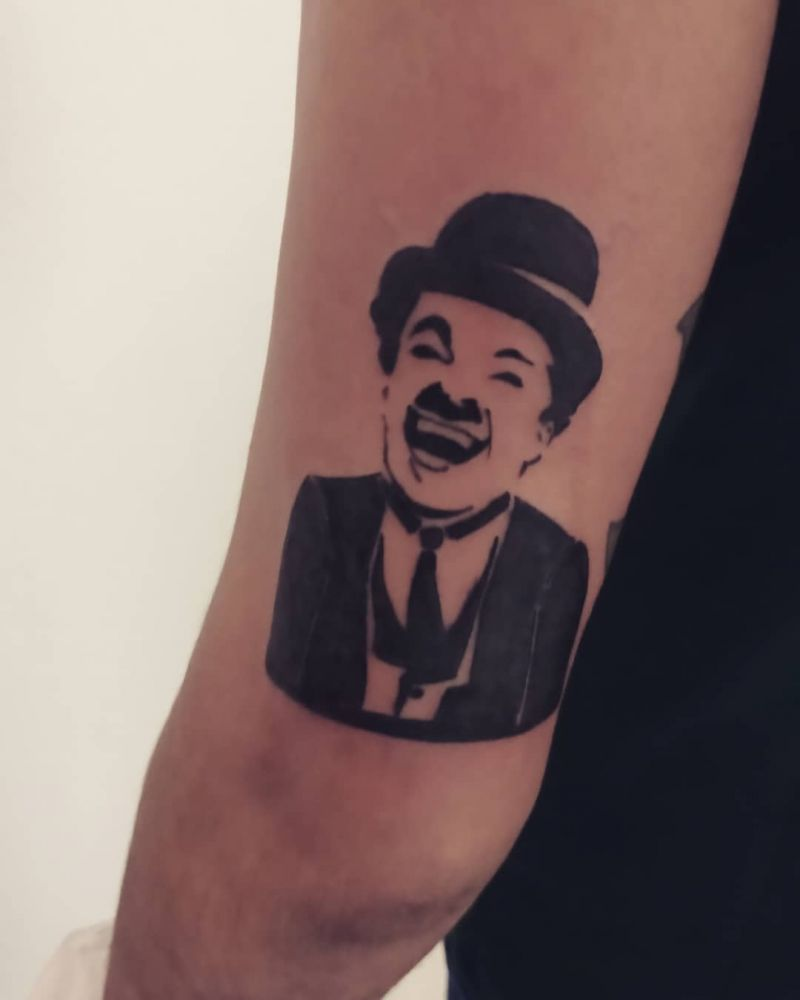 30 Unique Charlie Chaplin Tattoos You Can Copy