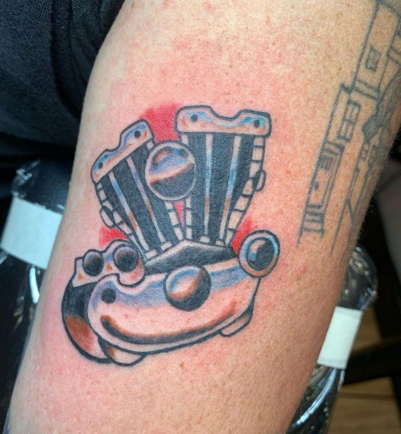 30 Unique Chrome Tattoos You Must Love
