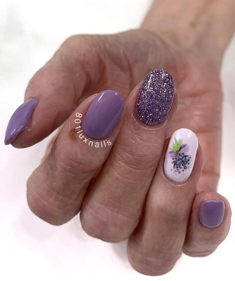 30 Pretty Floral Nail Art Designs You Must Try