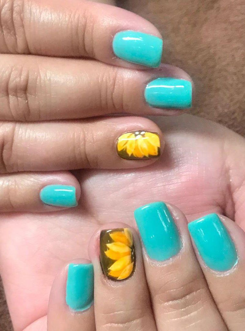30 Pretty Spring Nail Art Designs You Must Try